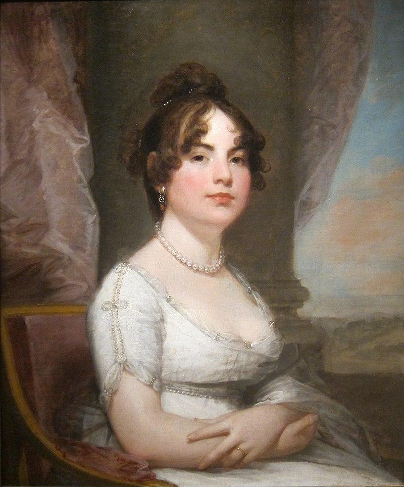 Portrait of Elizabeth Beltzhoover Mason by Gilbert Stuart, c. 1803-5.JPG