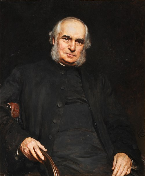Portrait of william stubbs by hubert von herkomer