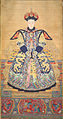 Portrait of an empress, possibly Xiaoxianchun, wife of Emperor Qianlong.jpg