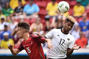Serge Gnabry - Gnabry playing for the Germany Olympic team in August 2016