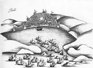 Portuguese–Mamluk naval war - The Mamluks and Ottomans under Selman Reis defended Jiddah against a Portuguese attack in 1517.