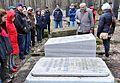 Porządkowanie cmentarza żydowskiego w Warszawie wstęp historyczny 14 kwietnia 2013.JPG
