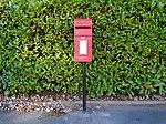 Post box on Victoria Road, Aigburth.jpg