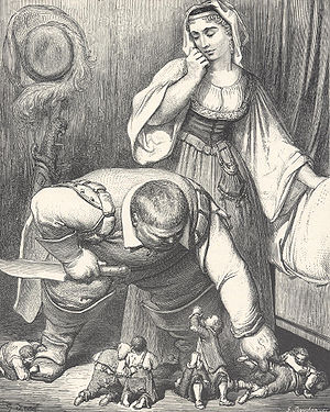 Hop-o'-My-Thumb - Illustration by Gustave Doré (1862)
