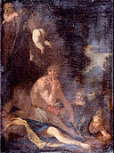 Poussin, Nicolas - Nymph and Satyr - Google Art Project.jpg