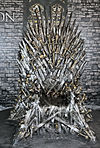 Poznań Pyrkon 2015 Game of Thrones The Throne.JPG