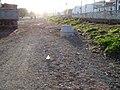 Pozo de saneamiento situado en el margen derecho del tramo intermedio. - panoramio.jpg