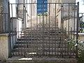 Pozsonyi Road Reformed Church. Iron gate. - Budapest.JPG