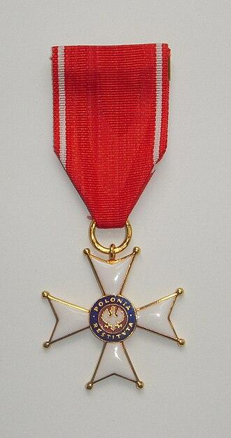 Order of Polonia Restituta - Knight's Cross.