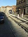 Praha, Radlice, rekonstrukce tramvajové trati VI.jpg