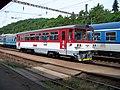 Praha-Vysočany, motorový vůz KŽC.jpg