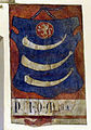 Prato, palazzo pretorio, secondo piano, salone, stemma guicciardini 2.JPG