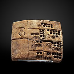 Precuneiform tablet-AO 29562