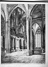 prent interieur door w.reder, in bezit van rijksdienst voor de monumenten zorg - arnhem - 20024851 - rce