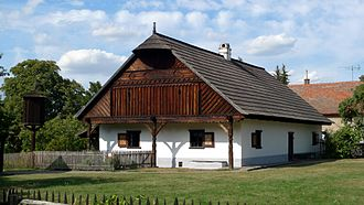 Archduke Ludwig Salvator of Austria - Old Bohemian House in Přerov nad Labem, Czech Republic - the first open-air museum in Central and Eastern Europe (1895)