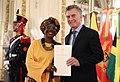 Presentación de cartas credenciales - Embajadora de Ghana.jpg