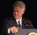 President Clinton at a Dinner Honoring Rep. John Lewis (2000) 01.png
