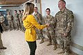 President Trump the First Lady Visit Troops in Iraq (31562962707).jpg