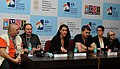 Press conference by the Directors Arthur Wiecek, Lucy Milloy, Craig Friemond & Ursula Mgir at the 43rd International Film Festival of India (IFFI-2012), in Panaji, Goa on November 24, 2012.jpg