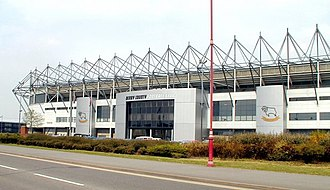 Derby County F.C. - Pride Park Stadium has been Derby's home since 1997