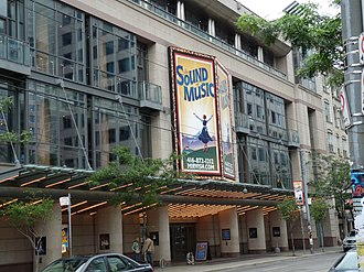 Toronto Entertainment District - The Princess of Wales Theatre was built in 1993 by Mirvish Productions.