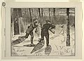 Print, Deer-Stalking in the Adirondacks in Winter, from Every Saturday, January 21, 1871, p. 57, 1871 (CH 18557317).jpg