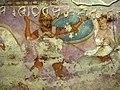 Produzione greca o magnogreca, sarcofago delle amazzoni, 350-325 a.C. ca, da tarquinia 05.JPG