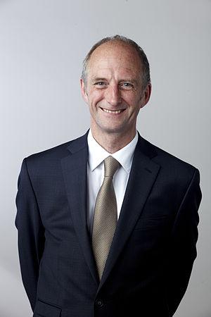 Colin Nichols - Colin Nichols in 2014, portrait via the Royal Society