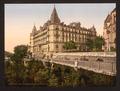 Promenade and Grand Hotel Gassion, Pau, Pyrenees, France-LCCN2001698667.tif