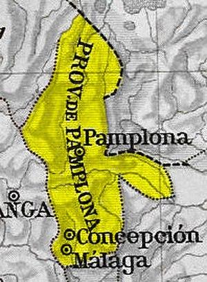Pamplona Province - Image: Provincia Pamplona