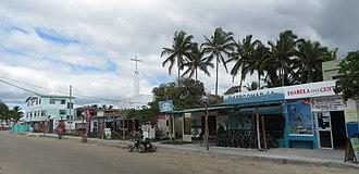 Puerto Villamil - Main Street