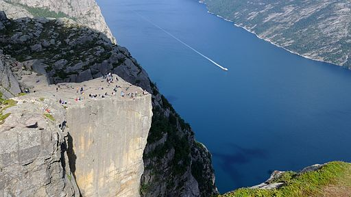 Pulpit Rock Preikestolen Norway