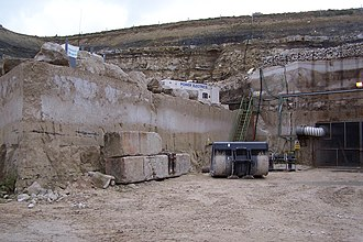 Purbeck Group - Purbeck quarry in southern England