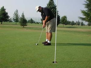 Golf, where strength and speed play much small...