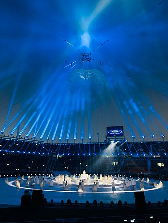 Pyeongchang Olympic Stadium at day for 2018 Winter Paralympics opening ceremony - 5.jpg