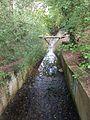 Pymmes brook immediately south of Folly Bridge.jpg