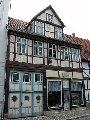 Johann Christoph Friedrich GutsMuths - House of birth.