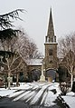Queen's Road Cemetery, Croydon, in Winter (1) - geograph.org.uk - 1658839.jpg