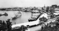 Queensland State Archives 62 Shipping at Circular Quay Petrie Bight Brisbane River November 1930.png