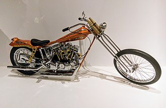 Arlen Ness - QuickNess, in the permanent collection of the Oakland Museum of California