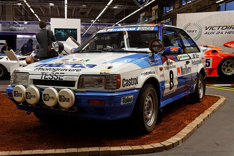File:Rétromobile 2011 - Mazda 323 4WD Groupe N - 001.jpg