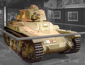 Tanks in France - The French Renault R 35 tank