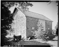 REAR VIEW - Stone Barn, Stone Route 212 (east of Doylestown), Doylestown, Bucks County, PA HABS PA,9-DOYLT.V,4A-2.tif