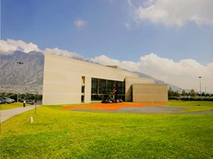 University of Monterrey - CIAA and Rector's building.