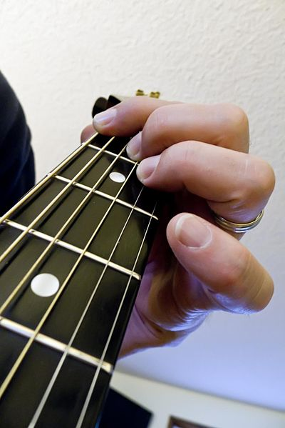 How to chord a guitar