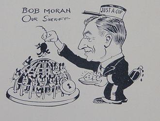 """Robert L. Moran - A cartoon from """"On The Pan""""."""