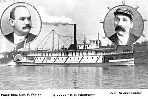 R. R. Thompson (sternwheeler) - R.R. Thompson