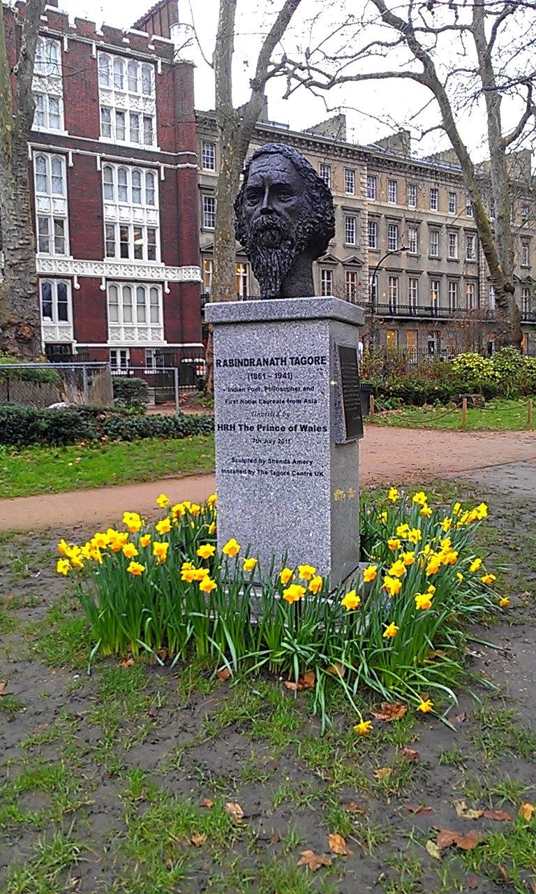 Rabindranath Tagore Bust in Gordon Square