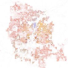Las Vegas - Wikipedia on demographic map of jerusalem, demographic map of australia, demographic map of new york city,