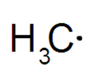 Reactive intermediate - Image: Radical metilo methyl radical